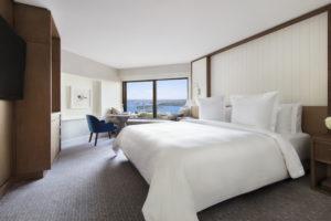 Sydney - Four Seasons Hotel Deluxe Harbour View Room - luxury short breaks Australia