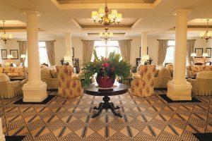 Blue Mountains - Lilianfels Resort & Spa lounge area - luxury short breaks Australia