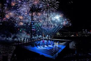 Sydney - firework finale to opera on the harbour - luxury short breaks Australia