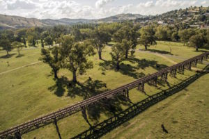 Gundagai - Railway Bridge - Destination NSW