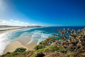 Fraser Island - ocean views from the peak - Luxury short breaks Australia