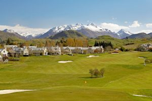 Queenstown - Millbrook Resort, Golf Course with Coronet Peak in the background - Luxury short breaks South Island