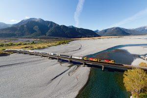 Waimakariri Gorge - TranzAlpine Waimakariri Bridge - Luxury short breaks New Zealand