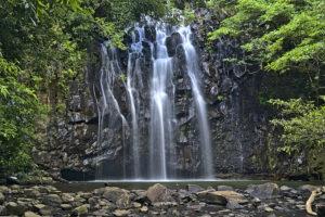 Ellinjaa Falls - ledge waterfalls - Bill Peach Journeys