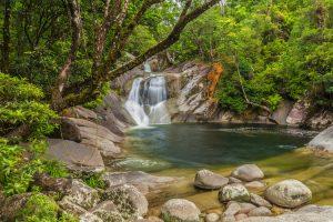 Josephine Falls - scenic waterfall in Wooroonooran National Park - Luxury short breaks Queensland