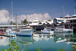 Port Douglas - boats docked in the marina - Luxury short breaks Australia