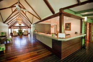 Silky Oaks Lodge - Reception area - Luxury solo journeys