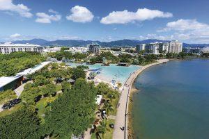 Cairns - man made pool on the esplanade - Luxury short breaks Australia