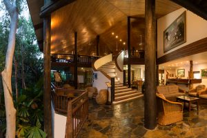 Thala Beach - Nature Resort lobby amongst the trees - Luxury solo tours