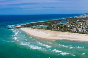 Kingscliff - view of the beaches and coastline - Luxury short breaks Australia