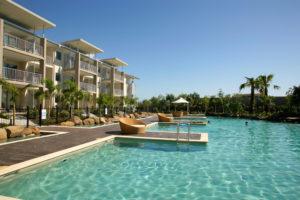 Kingscliff - Peppers Salt Resort & Spa Lagoon Pool - Luxury short breaks Australia