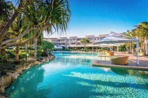 Kingscliff - Peppers Salt Resort & Spa Lagoon Pool - Luxury solo tours