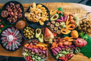 Kingscliff - fruit platter at Tropical Fruit World - Luxury short breaks Australia