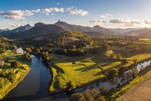 Tweed Coast - the Tweed River and Mount Warning - Luxury solo tours
