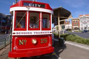 Bendigo - Vintage Trams - Bill Peach Tours