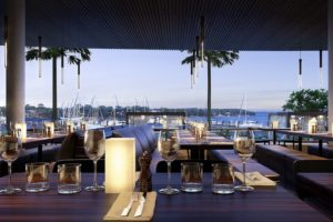 Lake Macquarie - lunch at 8 at Trinity point - luxury short breaks New South Wales
