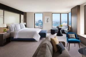 Sydney - Four Seasons Hotel Harbour View Room - luxury short breaks New South Wales