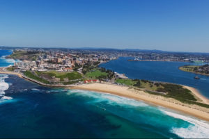 Newcastle - crystal clear day in Newcastle - luxury short breaks New South Wales
