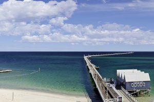 Busselton - Busselton Jetty the longest timber-piled jetty in the southern hemisphere - Luxury short breaks Australia