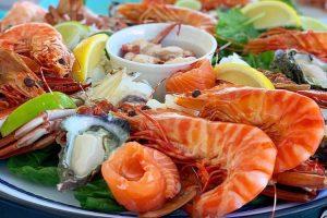 Rottnest Island - gourmet seafood platter - Luxury short breaks Western Australia