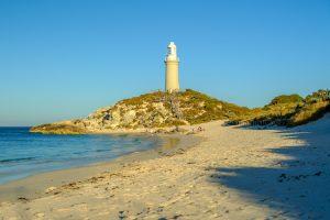 Rottnest Island - Bathurst Lighthouse on the northeast of the island - Luxury solo tours