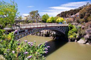 Launceston - Kings bridge from Cataract Gorge - Luxury short breaks Australia