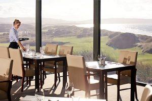 Barnbougle - stunning views from Lost Farm Restaurant - Luxury short breaks Australia